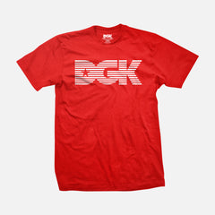 DGK Levels T-Shirt Red