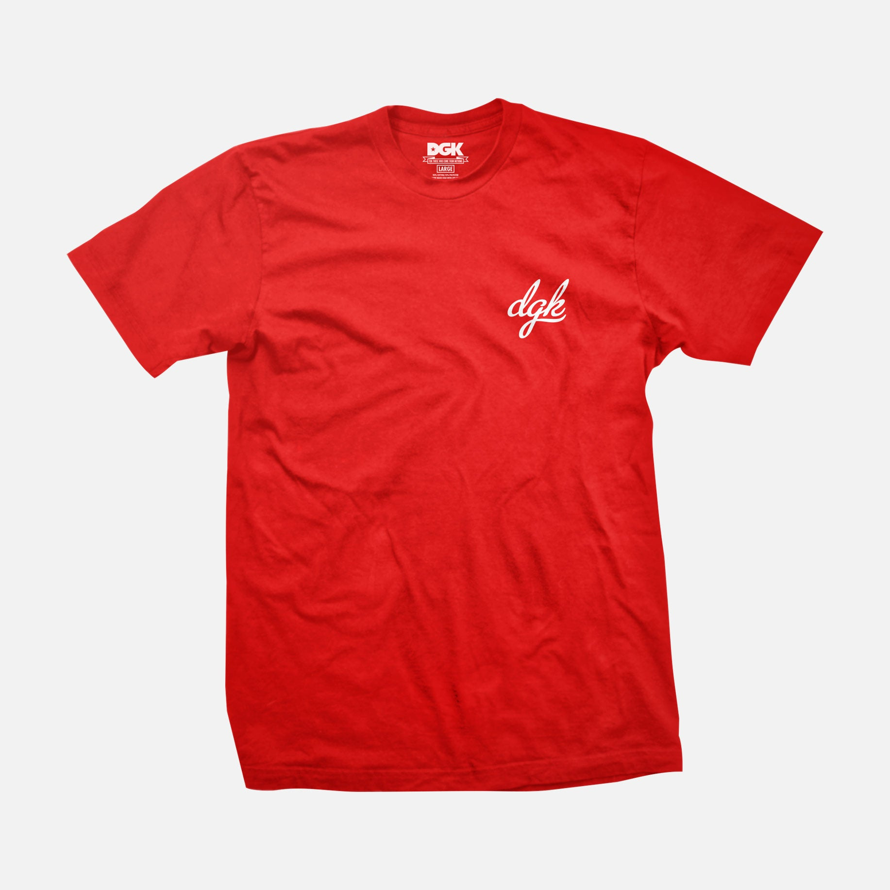 DGK Mini Script T-Shirt Red