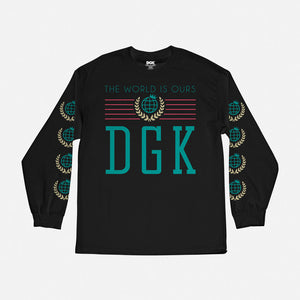 Crest Long Sleeve T-Shirt