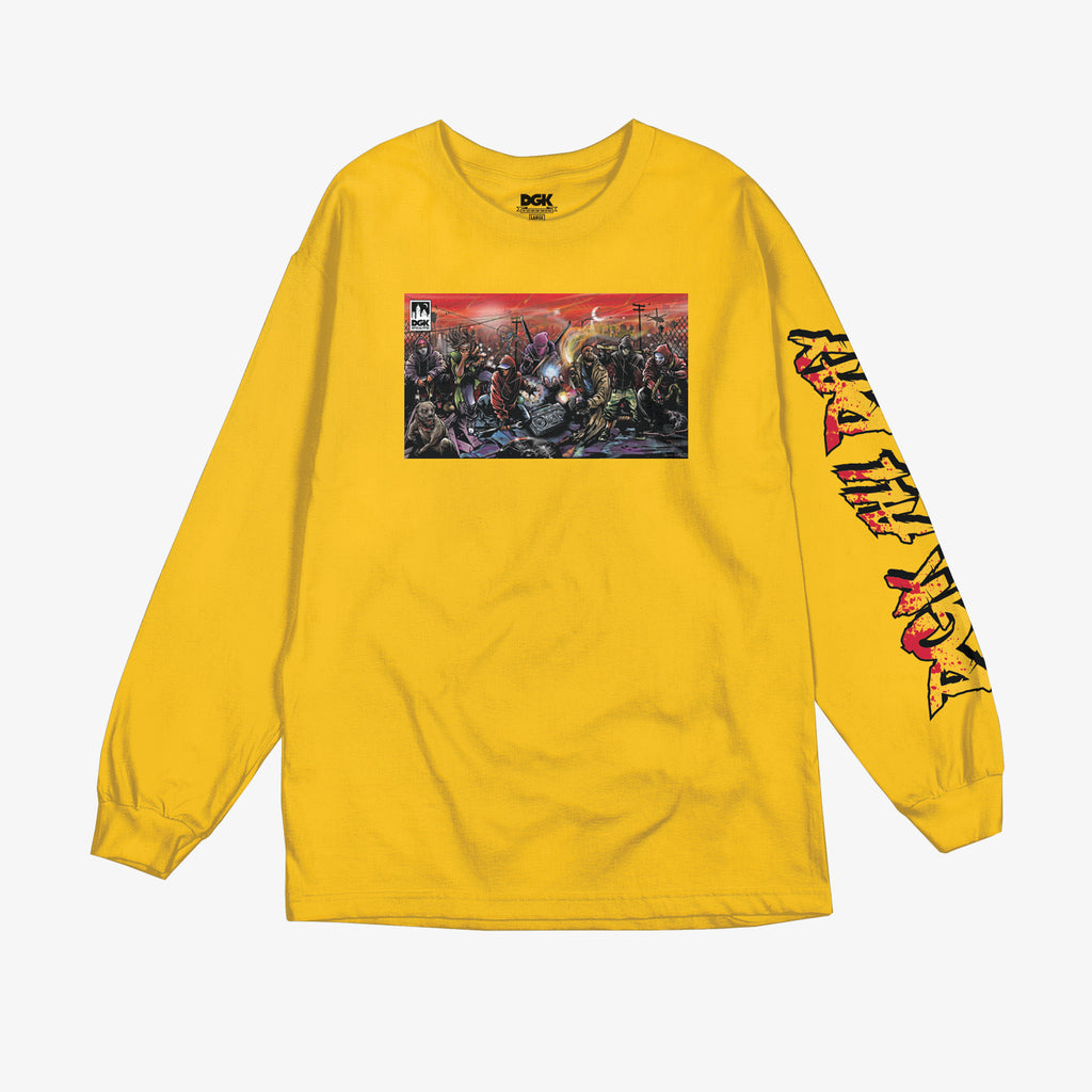 DGK Apocalypse Long Sleeve T-Shirt