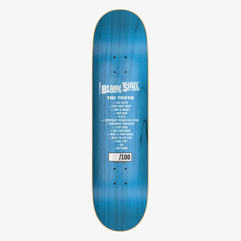 DGK x Beanie Sigel The Truth Skateboard Deck