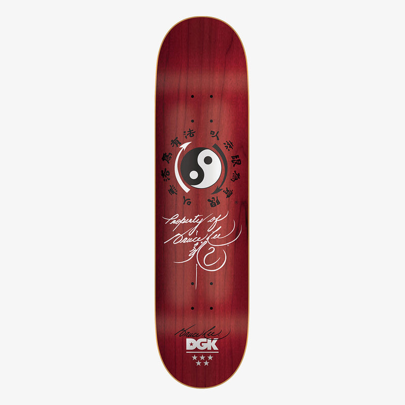 DGK x Bruce Lee Nunchucks Skateboard Deck