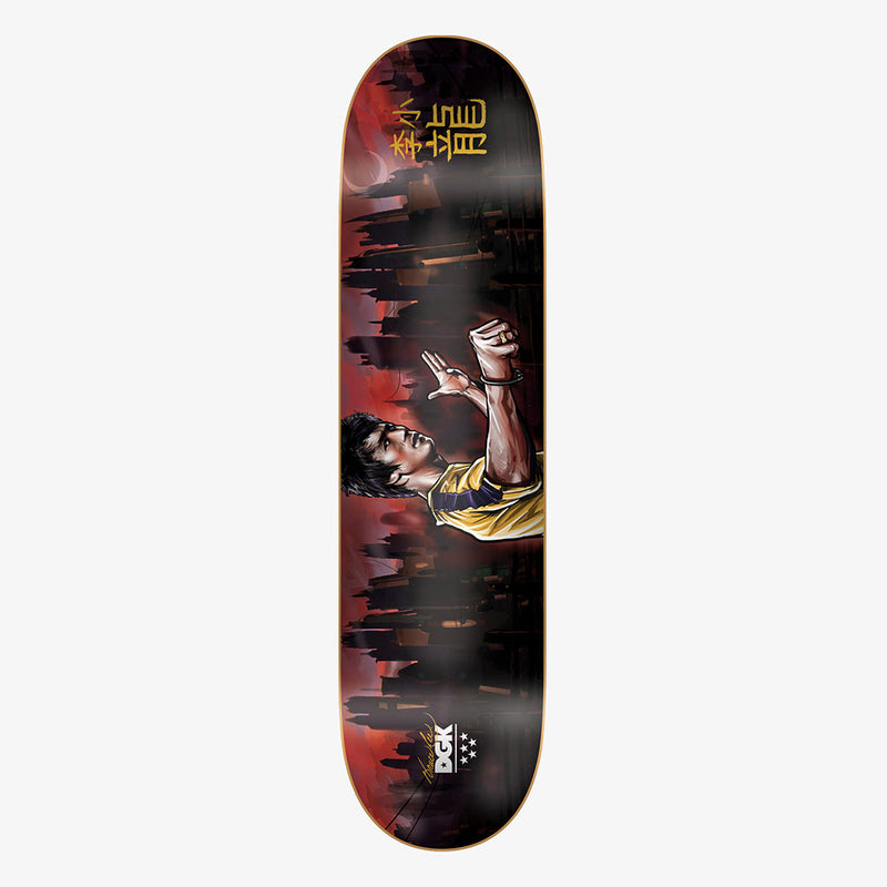 DGK x Bruce Lee Warrior Skateboard Deck