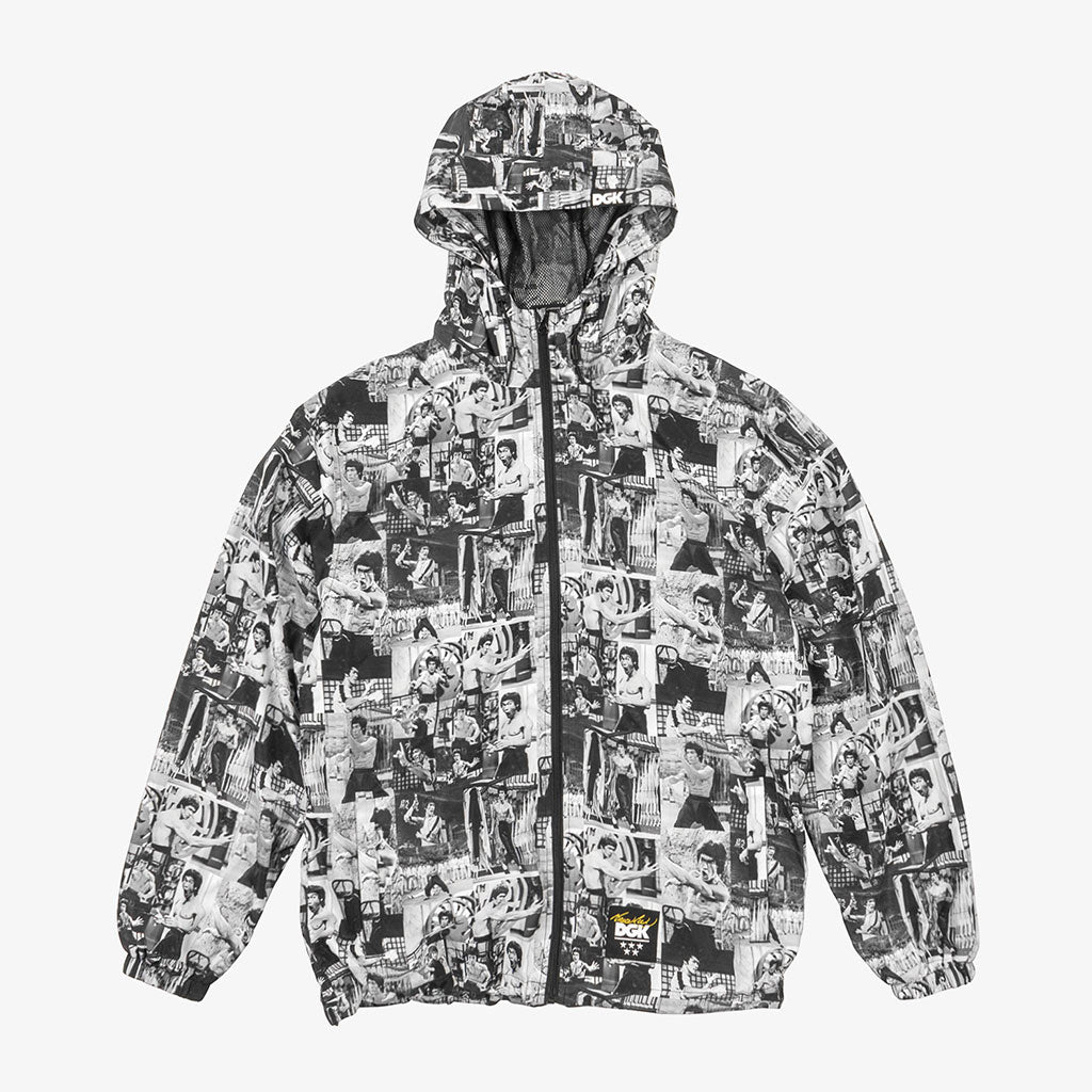DGK x Bruce Lee Montage Windbreaker