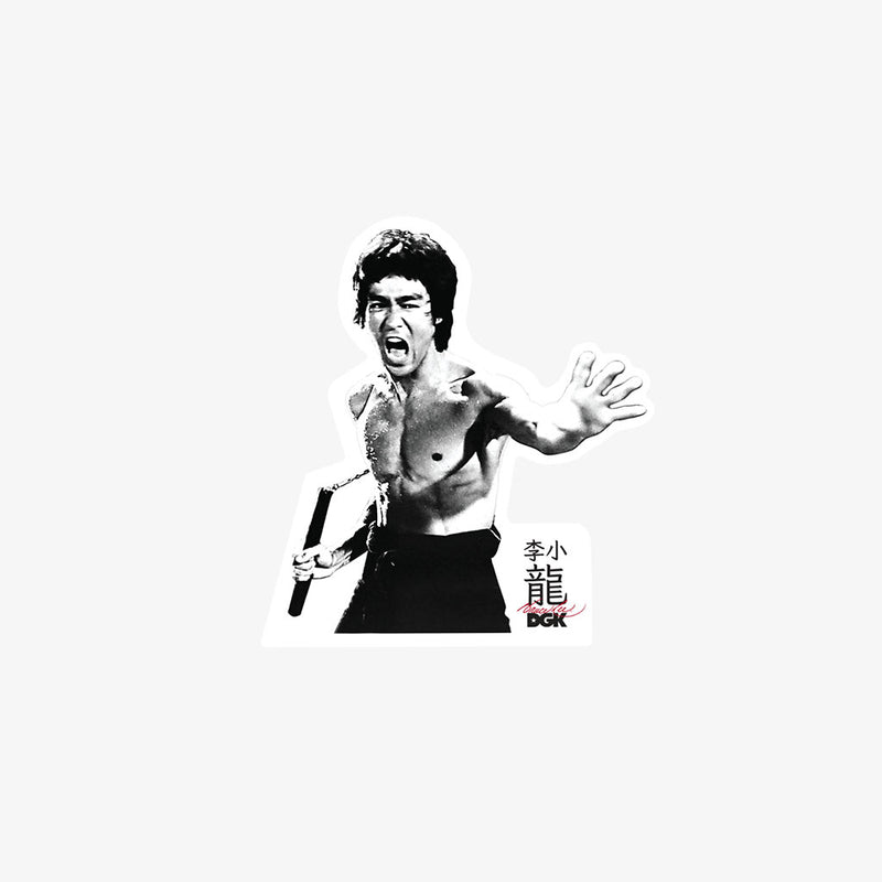 DGK x Bruce Lee Fierce Sticker