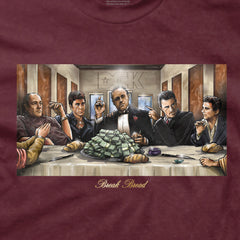 DGK Break Bread T-Shirt Burgundy
