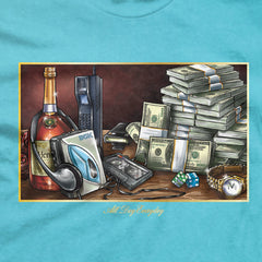 DGK Still Life T-Shirt Pacific Blue