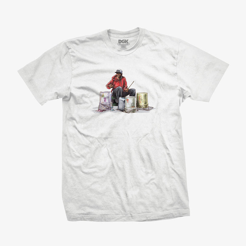 DGK Rhythm T-Shirt White