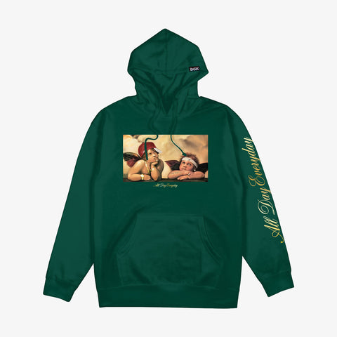 DGK Cherubs Hooded Fleece Forest Green