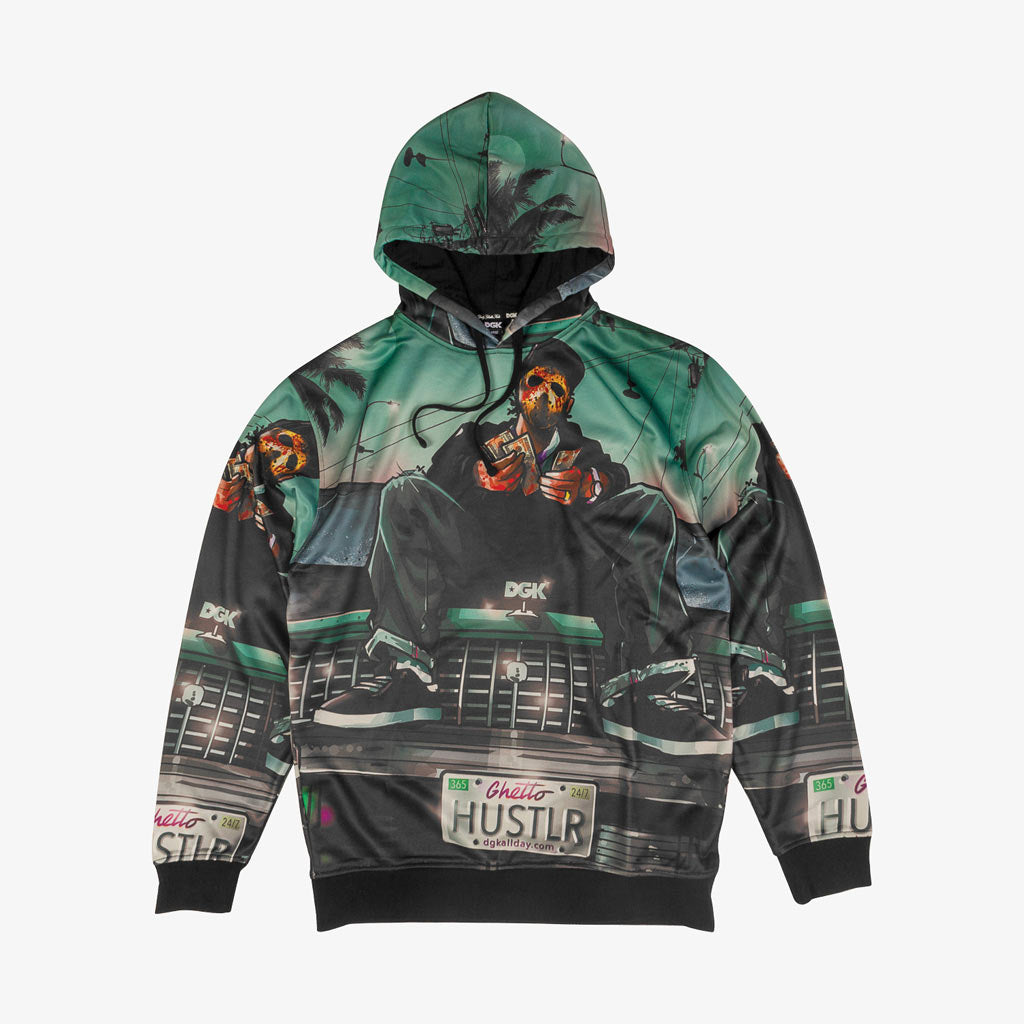 DGK Hustlin Sublimated Hood Fleece