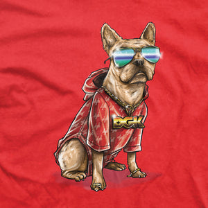 DGK Frenchie T-shirt Red