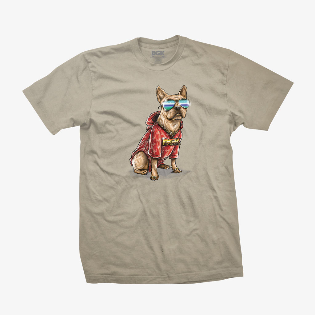 DGK Frenchie T-shirt White