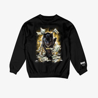 DGK Prowl Crew Fleece Black