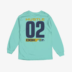 DGK Established LongSleeve T-Shirt Celedon