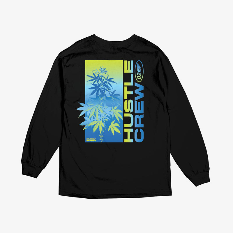 DGK Hustle Crew Long Sleeve T-Shirt