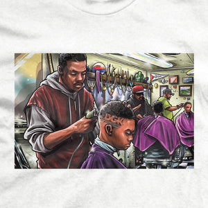 DGK Barbershop T-Shirt White