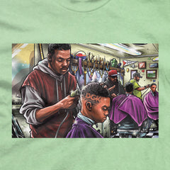 DGK Barbershop T-Shirt Mint
