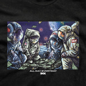 DGK Space Games T-Shirt Black