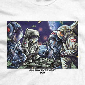 DGK Space Games T-Shirt White
