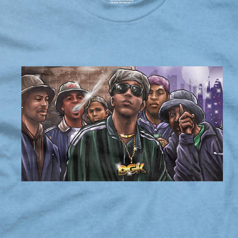 DGK Money Shot T-Shirt Carolina Blue