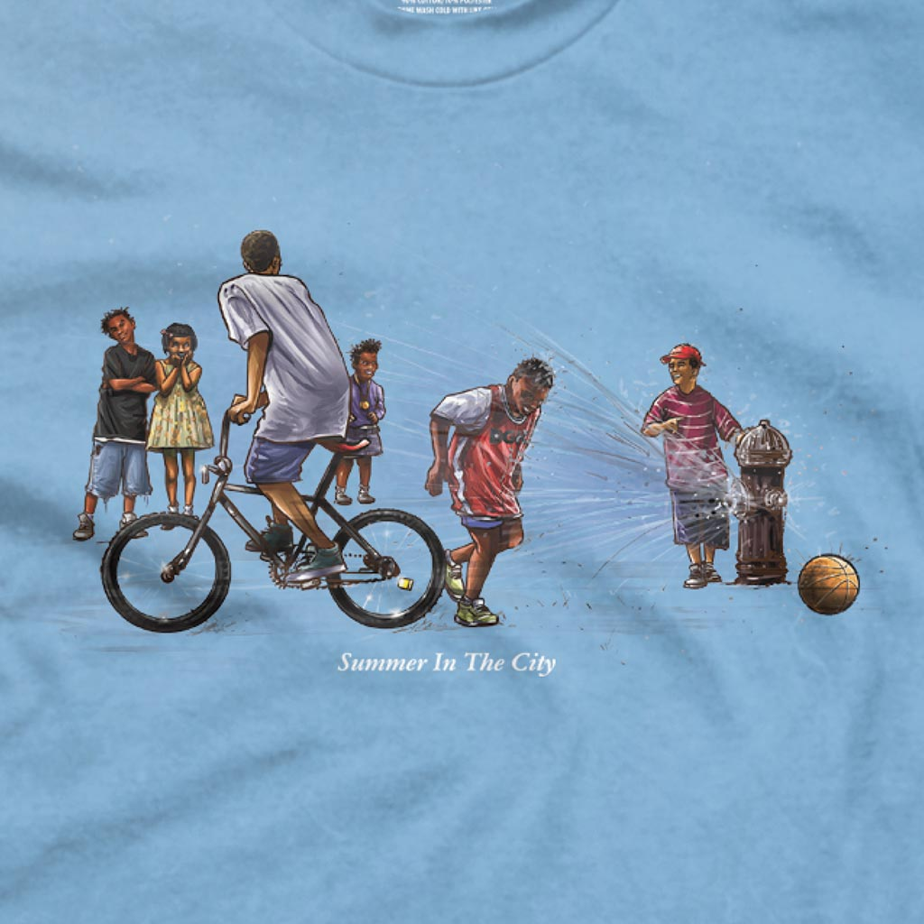 DGK Summer in the City T-Shirt Carolina Blue