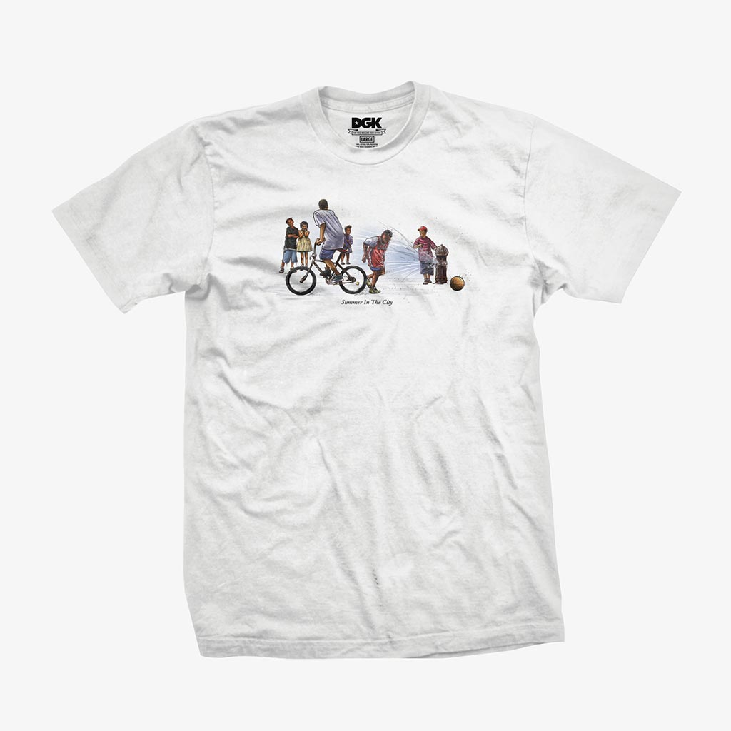DGK Summer in the City T-Shirt White