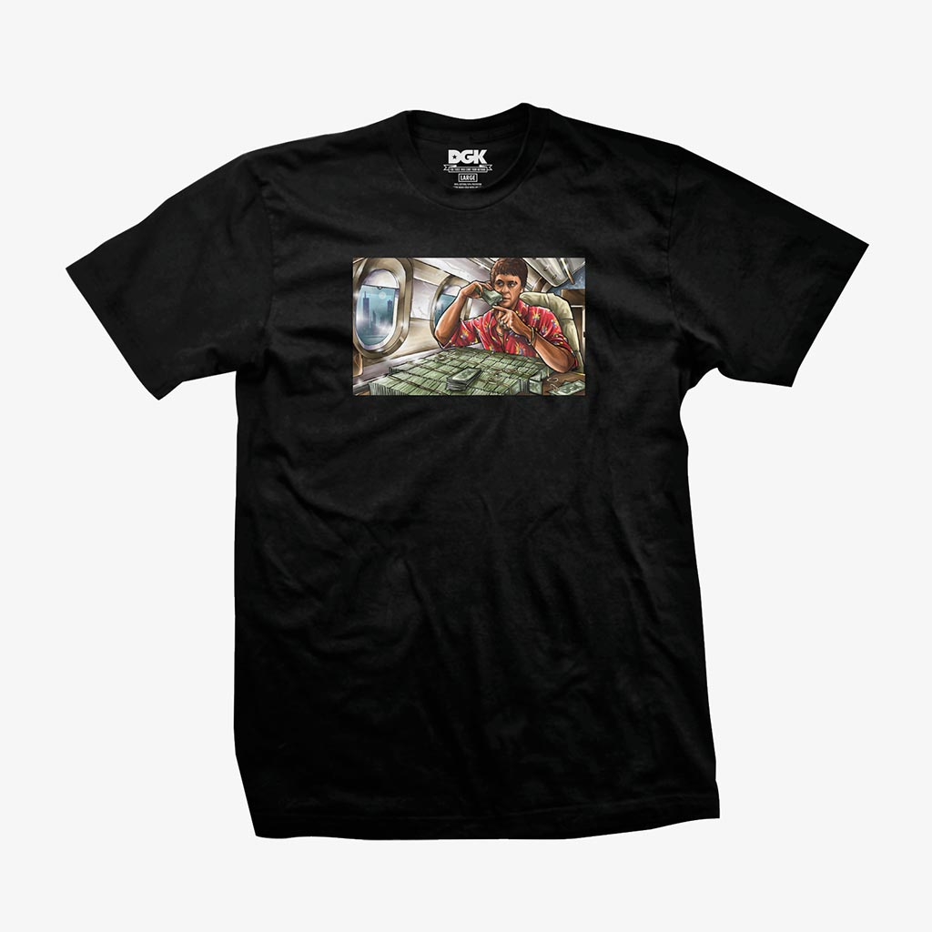 DGK Talkin' T-Shirt Black