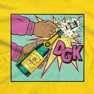 DGK Poppin' T-Shirt Yellow
