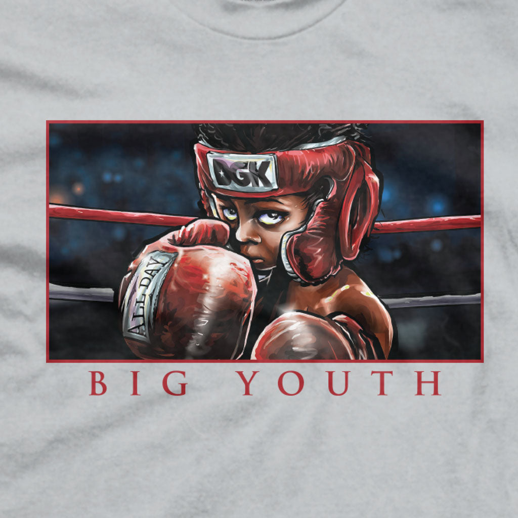 DGK Big Youth T-Shirt Silver