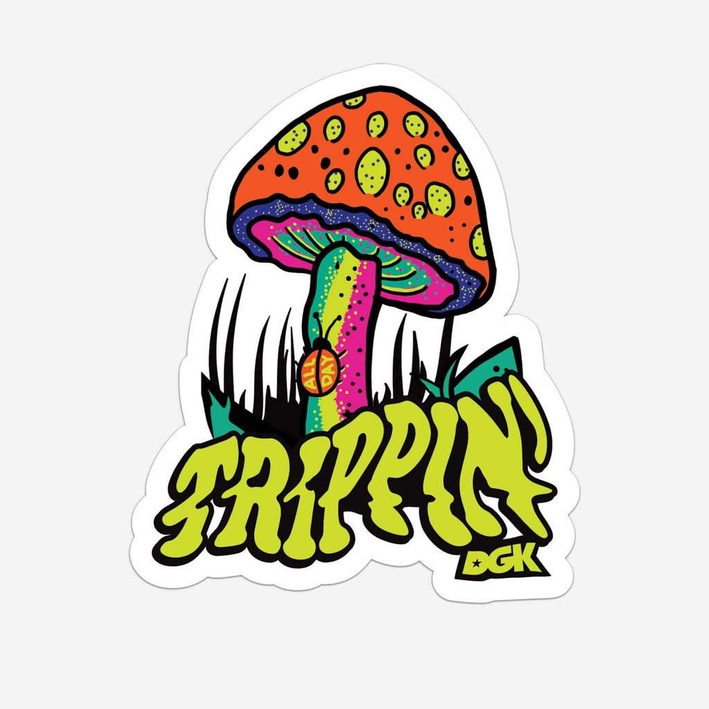 DGK Trippin' Sticker