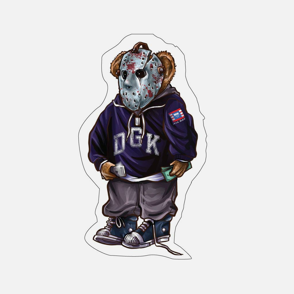 DGK The Plug Sticker