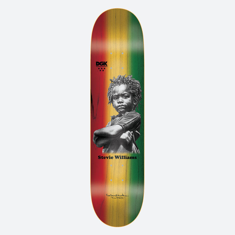 DGK x Heartman Stevie Williams Skateboard Deck