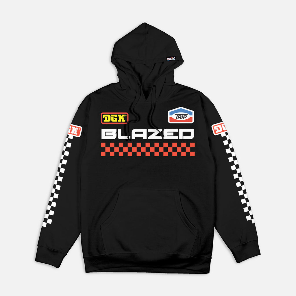 DGK Blazed Hooded Fleece Black