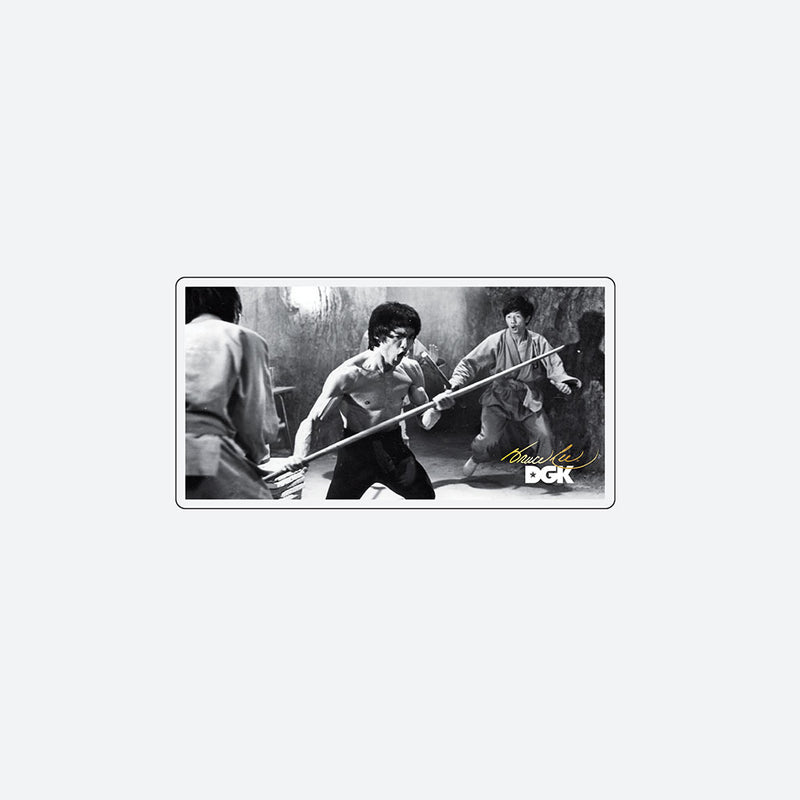 DGK x Bruce Lee Power Sticker