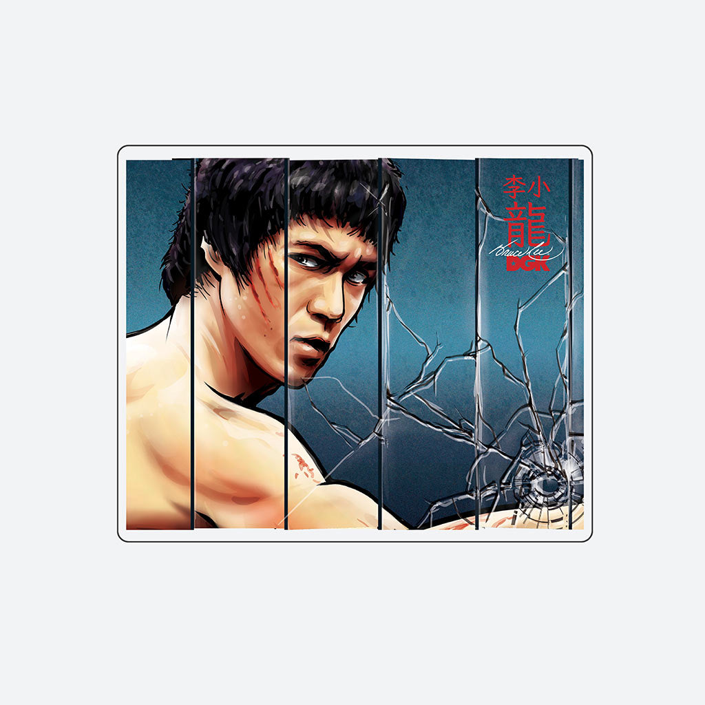 DGK x Bruce Lee Mirrors Sticker