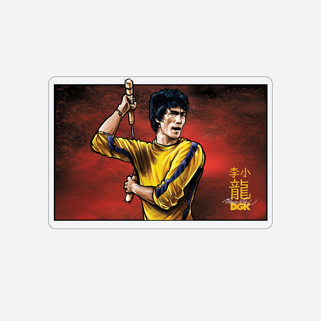 DGK x Bruce Lee Technique Sticker