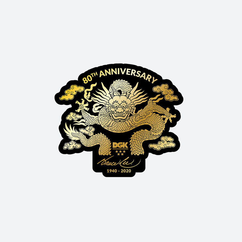 DGK x Bruce Lee Anniversary Sticker