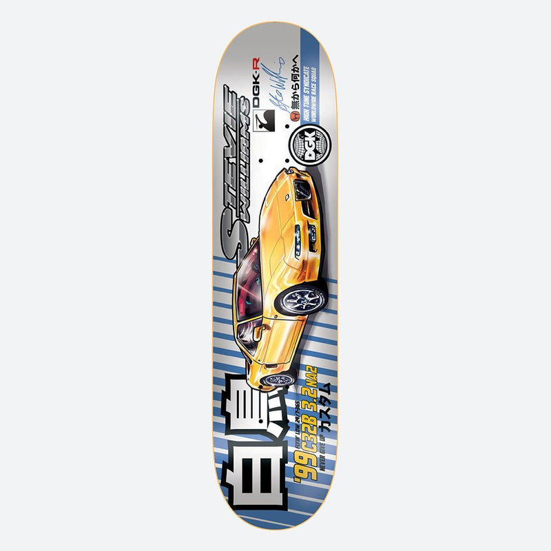 "Tuner Williams 7.75"" Skateboard Deck"