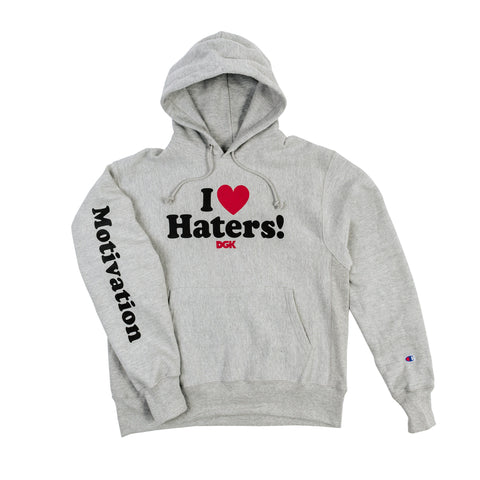 DGK x Champion Motivation Hoody Grey Heather