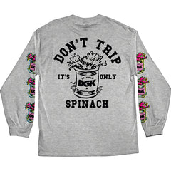 DGK x Popeye It's Only Spinach Long Sleeve T-Shirt