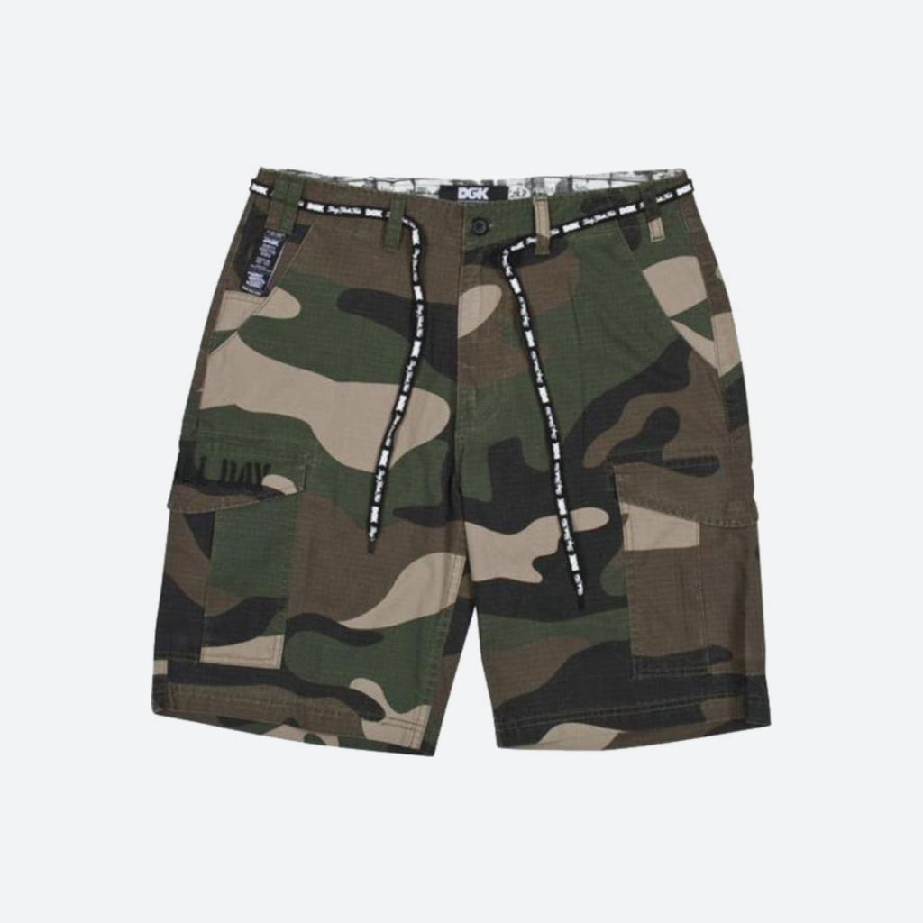 O.G. Cargo Big Woods Camo Shorts