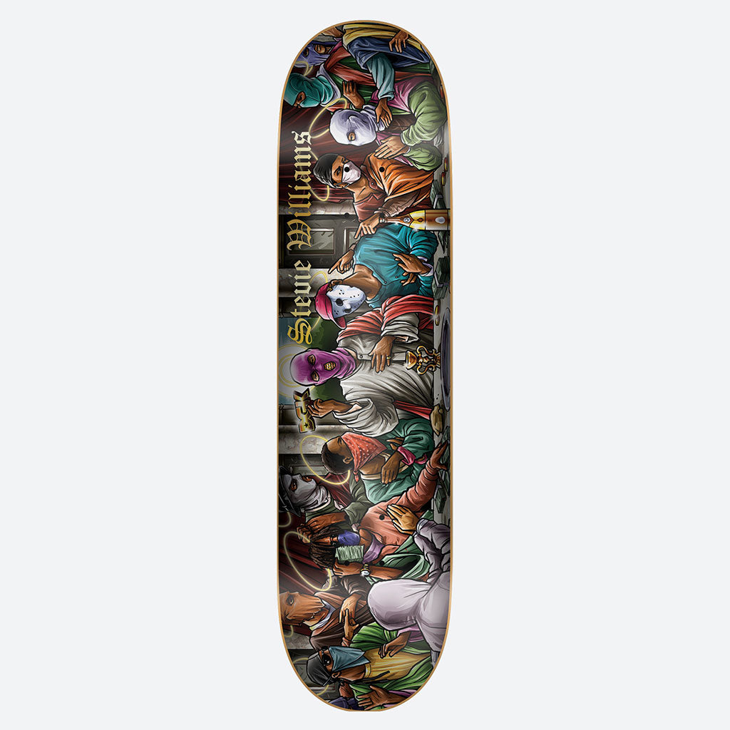 "Last Supper 8.25"" Stevie Williams Skateboard Deck"