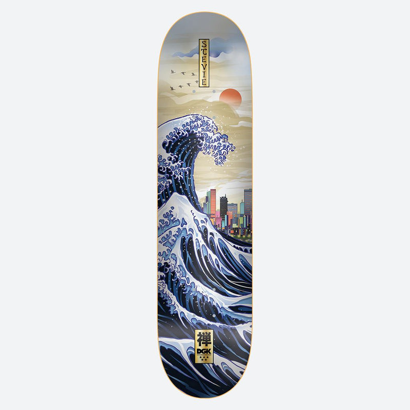 "DGK Zen Stevie 7.9"" Skateboard Deck"
