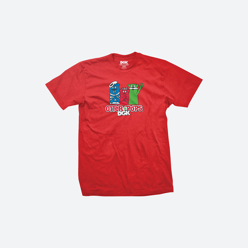 DGK x Otter Pops Youth Crew T-Shirts