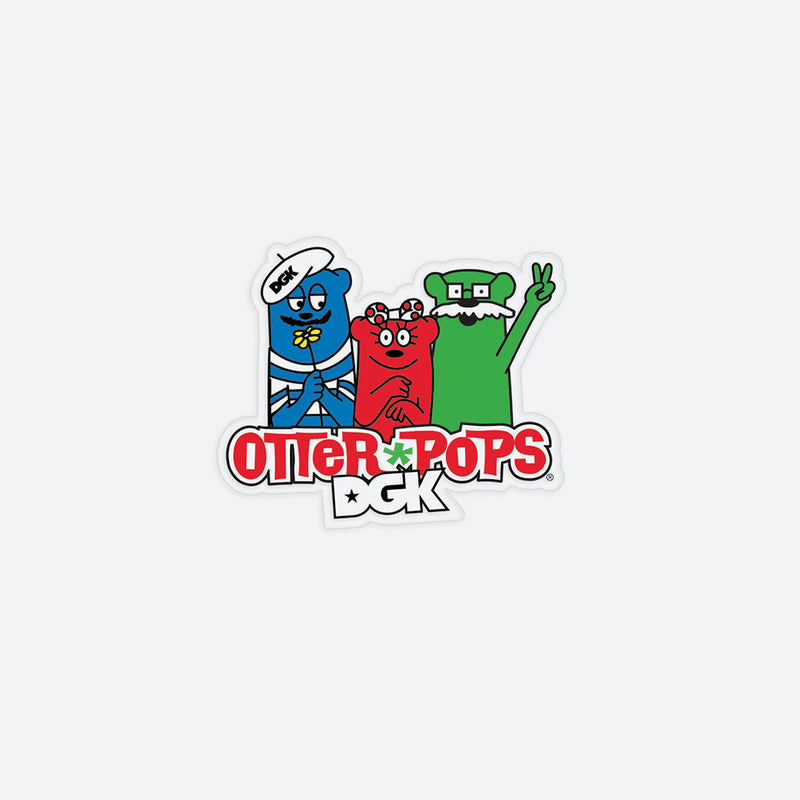 DGK x Otter Pops Crew Sticker Pack (25pk)