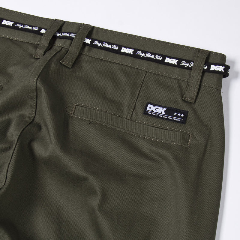 DGK Street Chino Pant Army