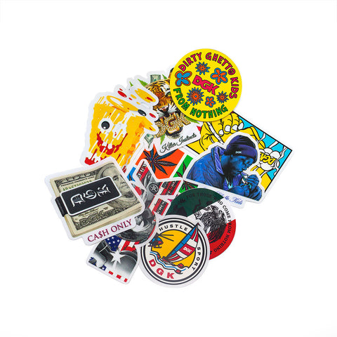 DGK Sticker Pack 10 Pack