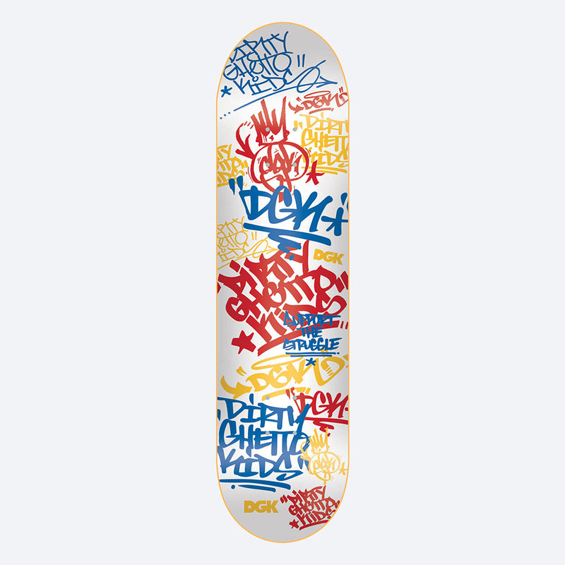 "DGK Summer School 7.8"" Skateboard Deck"