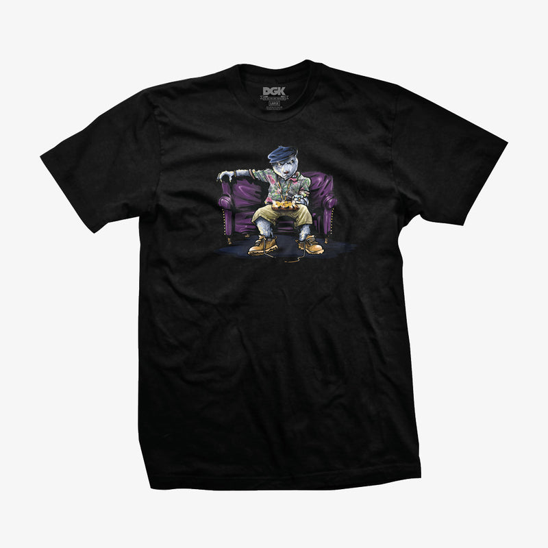 DGK Chill Poppa T-Shirt Black