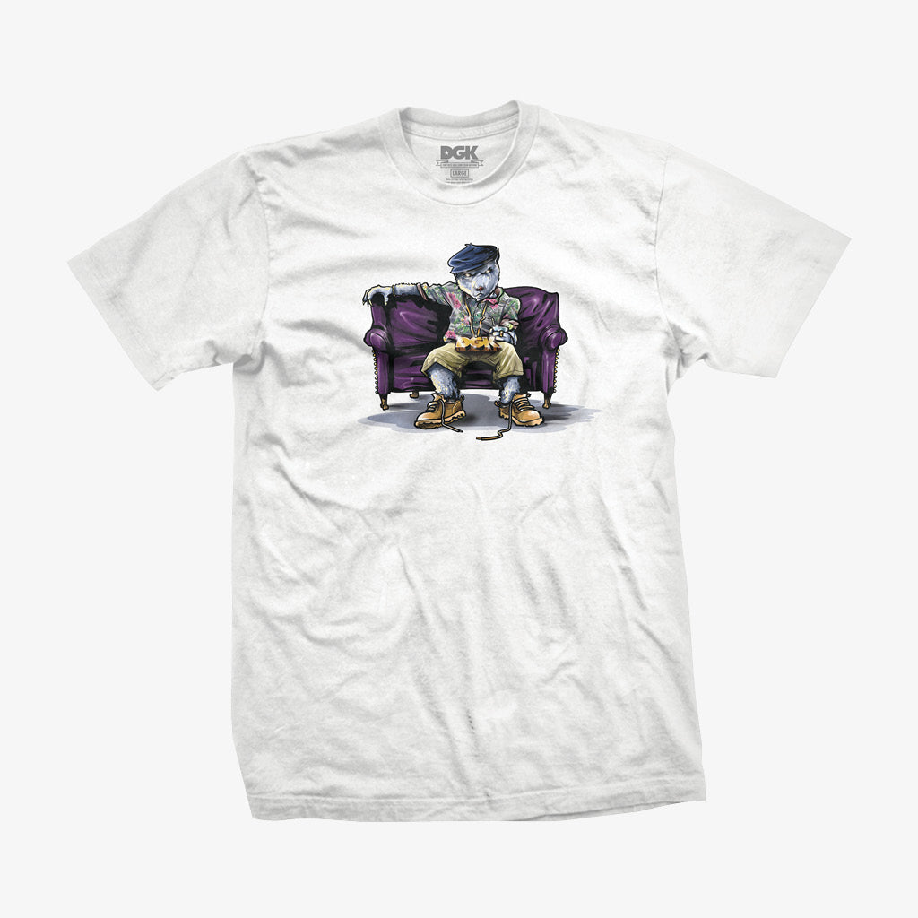 DGK Chill Poppa T-Shirt White